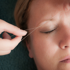 Threading at Smooth Brazilian Waxing